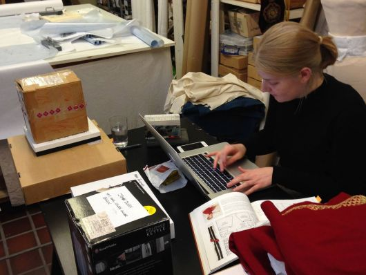 Natalie ensures every item has its own inventory number