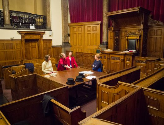 Planning the garment autopsy in the court room